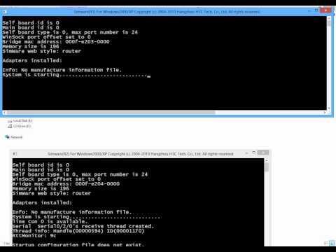 2- HP A-Series Comware 5 Desktop Simulator - 2 Routers Lab