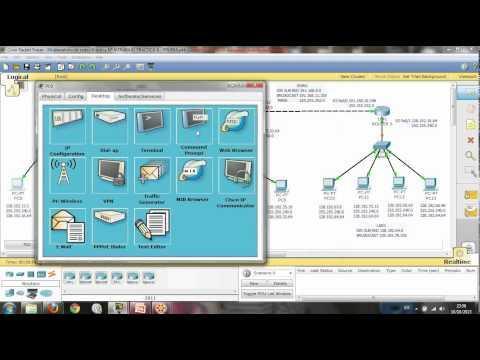 Configuración De Routers Y Rutas Estáticas (Cisco Packet Tracer)