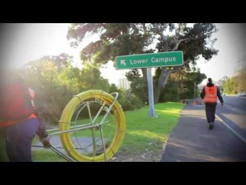ISquared Installing Fibre Optic Cables At University Of Cape Town (UCT)