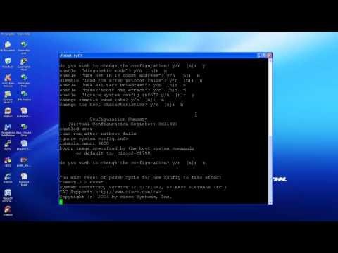 Cisco Router Password Reset