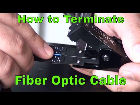 How To Terminate Fiber Optic Network Cable
