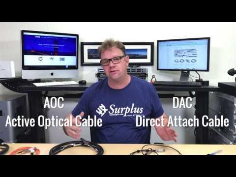 Direct Attach Cable (DAC) Vs Active Optical Cable (AOC) - Which Do I Need To Buy For My Rack?