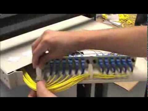 Tech Tip Installation Video - How To Install A 12 Fiber Rack Mount Patch Panel
