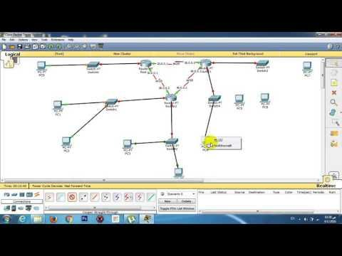 Cisco Packet Tracer | 3 Routers | 5 Switch | 2 W.Routers | Lesson