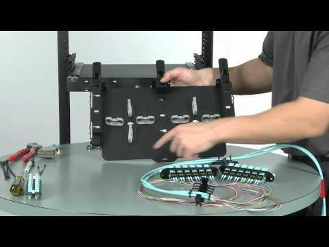 How To Terminate Tight Buffered Fiber Cable In Corning's CCH Patch Panels