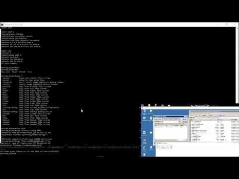 Backing Up Configs And Restoring Routers /switches