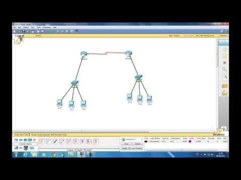 Configuracion De Red Con Dos Routers Packet Tracer