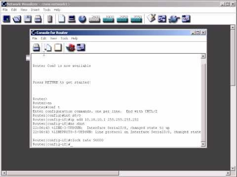 Connecting Cisco 2600 Routers Using Serial Interfaces