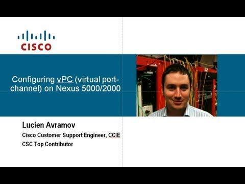 VPC Configuration Nexus 5000/2000