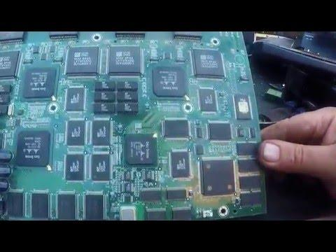Scrapping Modems, Routers, Switches For Gold, Palladium & Tantalum