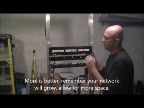 Network Cabling Basic | Installation Of Patch Panels With Tips | BridgeCable.com Philadelphia
