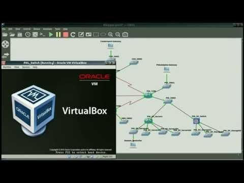 GNS3-VirtualBox Part 4: Adding Data Center Routers And Switches